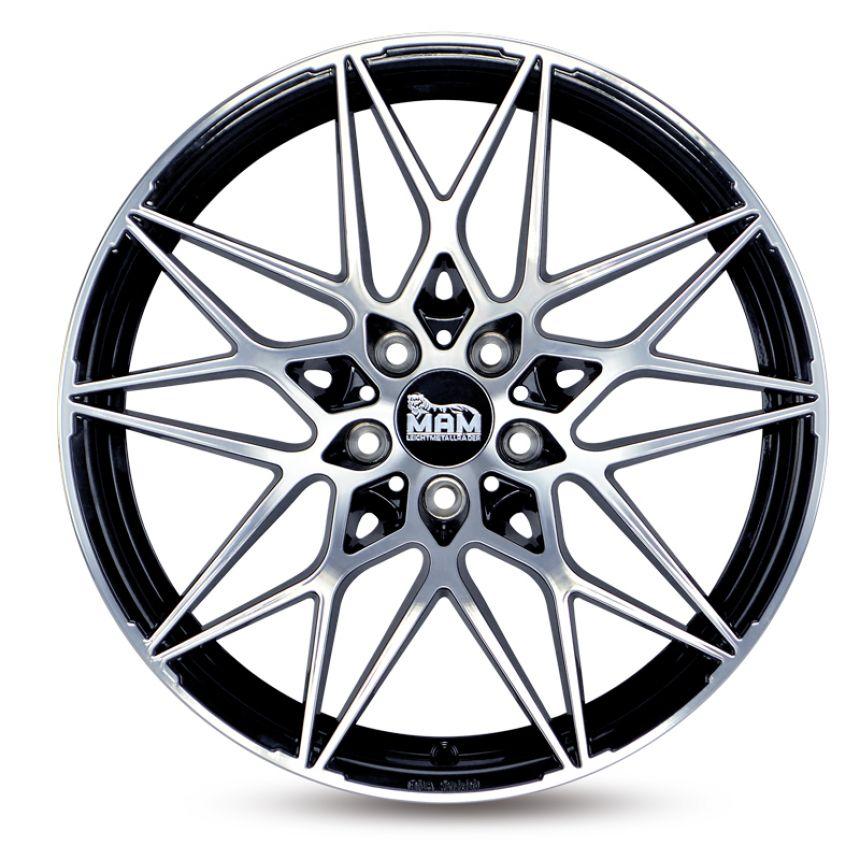 B2 Black Front Polish 8.5x19