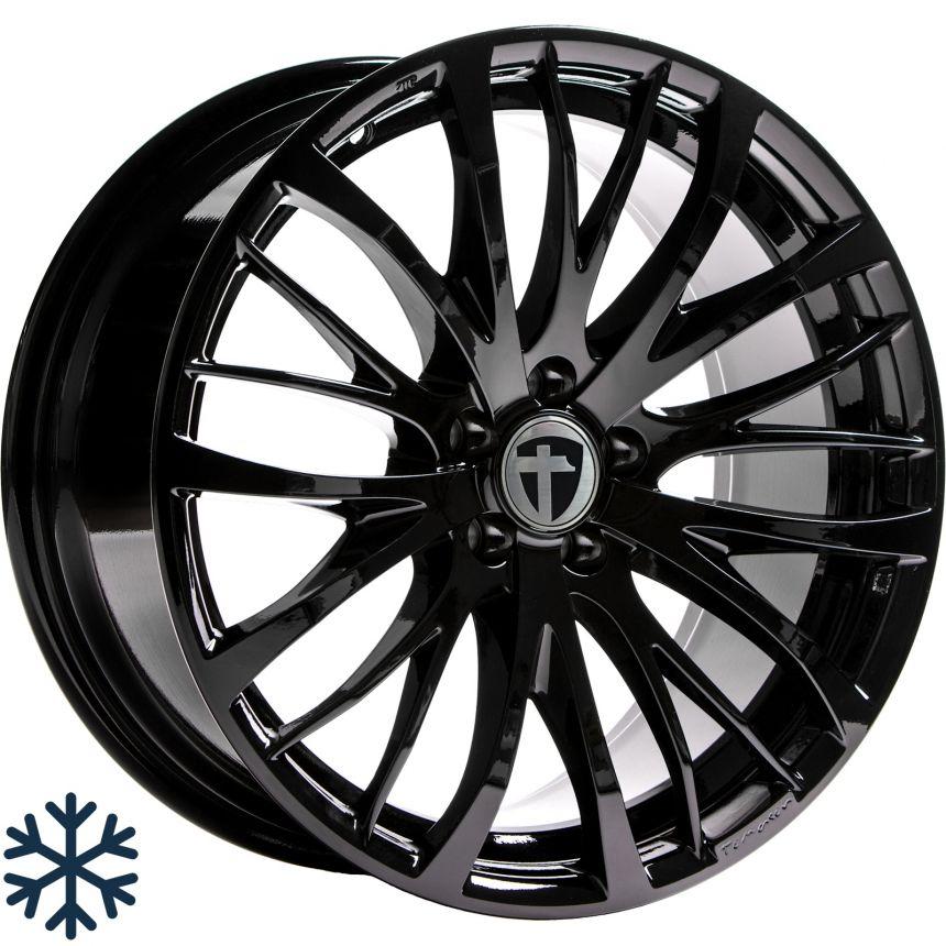 TN7 black painted 8.5x18